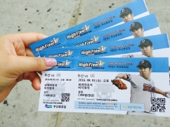 Doosan Bears vs LG Twins, Jamsil Stadium.
