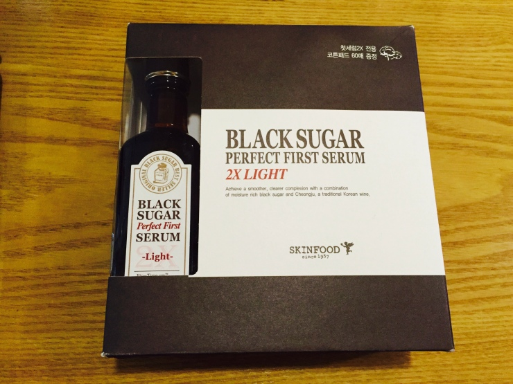 Too Cool for School Black Sugar Perfect First Serum