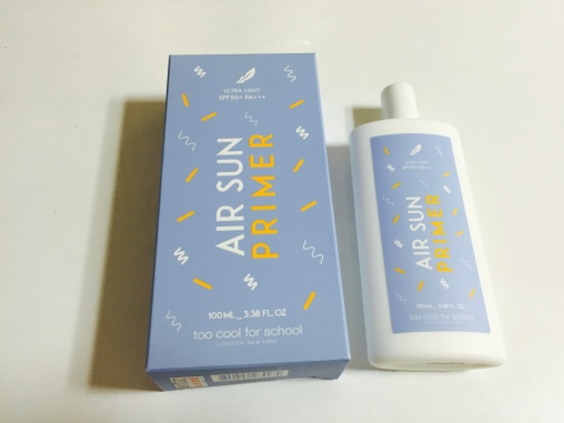 Too Cool for School Air Sun Primer