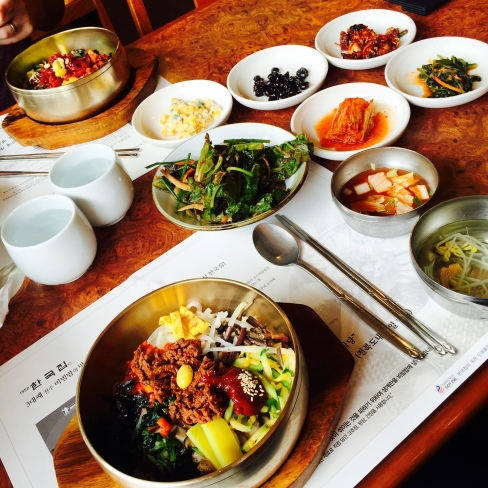 Jeonju is the home of Bibimbap