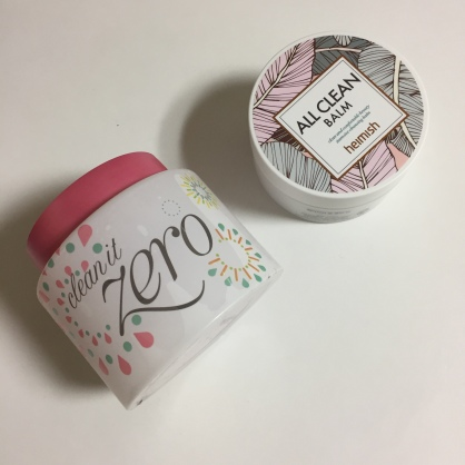 Banila Co Clean it Zero and Heimish All Clean Balm