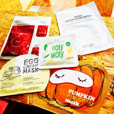Korean Skincare 10 step routine sheet mask mizon